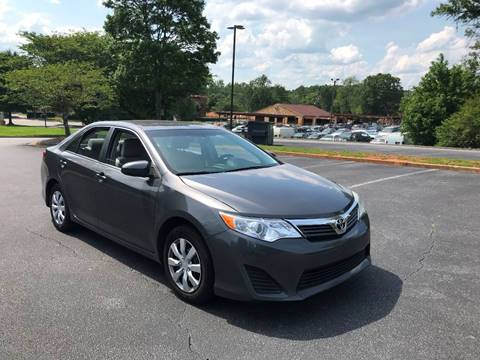 2014 Toyota Camry for sale at SMZ Auto Import in Roswell GA