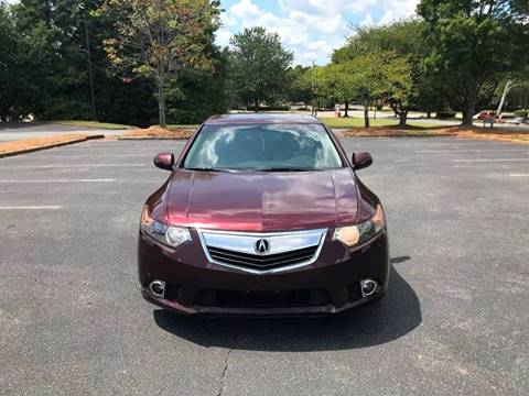 2011 Acura TSX for sale at SMZ Auto Import in Roswell GA