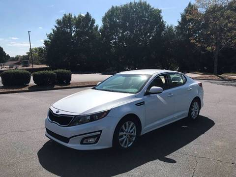 2015 Kia Optima for sale at SMZ Auto Import in Roswell GA
