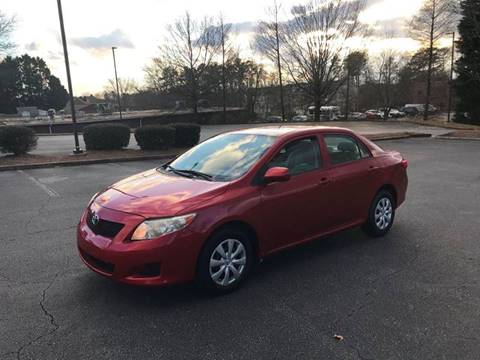 2010 Toyota Corolla for sale at SMZ Auto Import in Roswell GA