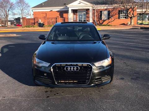 2013 Audi A6 for sale at SMZ Auto Import in Roswell GA