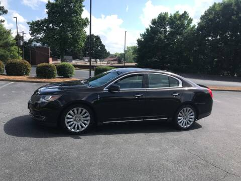 2013 Lincoln MKS for sale at SMZ Auto Import in Roswell GA