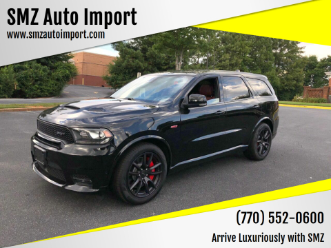 2018 Dodge Durango for sale at SMZ Auto Import in Roswell GA