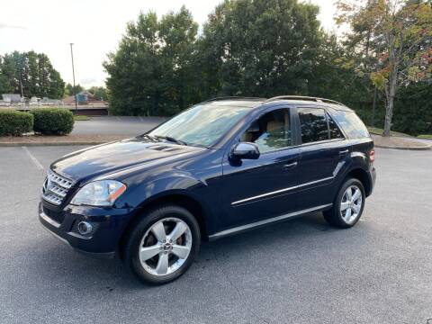 2009 Mercedes-Benz M-Class for sale at SMZ Auto Import in Roswell GA