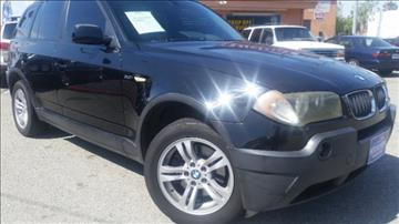 2004 BMW X3 for sale in Harbor City, CA