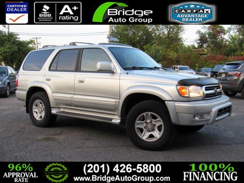 2000 Toyota 4Runner Limited 4dr SUV   Hasbrouck Heights NJ