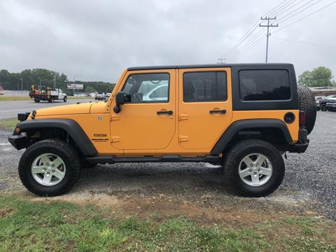 2013 Jeep Wrangler Unlimited for sale in Arab, AL
