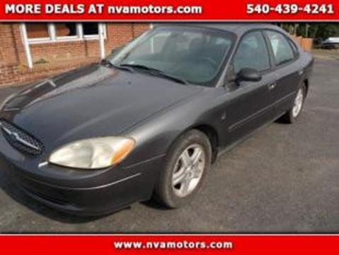 2002 Ford Taurus for sale in Bealeton, VA