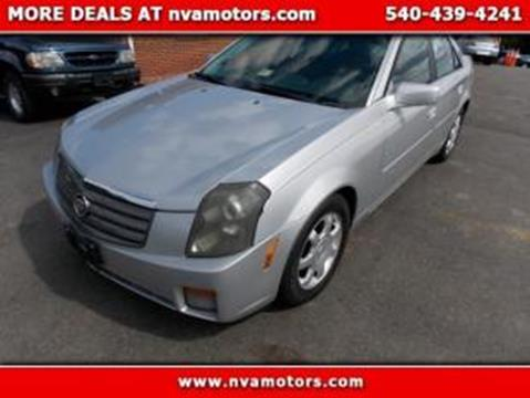 2003 Cadillac CTS for sale in Bealeton, VA