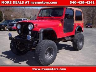 1986 Jeep CJ-7 for sale in Bealeton, VA