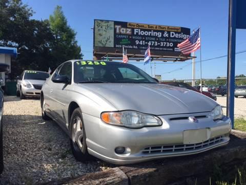 2001 Chevrolet Monte Carlo for sale in Port Charlotte, FL