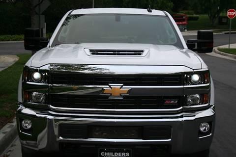2017 Chevrolet Silverado 2500hd For Sale Carsforsale Com