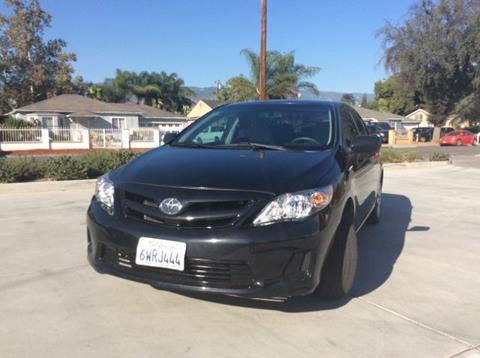 2012 Toyota Corolla for sale in San Bernardino, CA