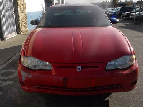 2004 Chevrolet Monte Carlo for sale at Silver Star Auto in San Bernardino CA