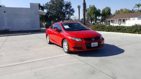 2012 Honda Civic for sale at Silver Star Auto in San Bernardino CA
