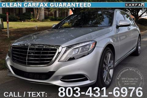 2015 Mercedes-Benz S-Class for sale in Fort Mill, SC