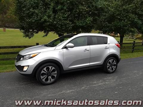 2012 Kia Sportage for sale in Staffordsville, KY