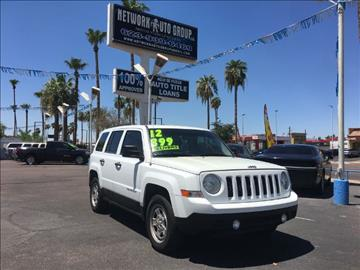 2012 Jeep Patriot for sale in Glendale, AZ