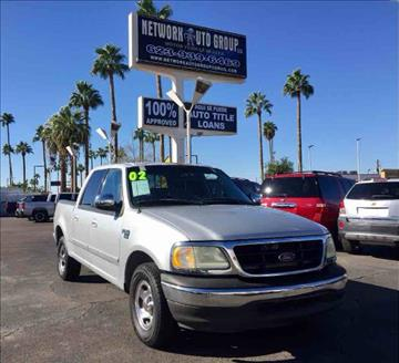 2002 Ford F-150 for sale in Glendale, AZ