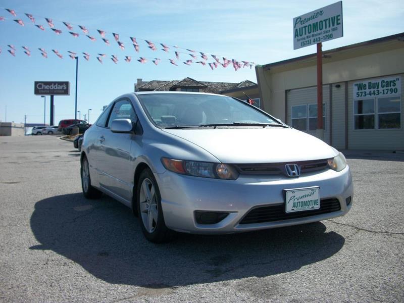 Honda Civic Used Columbia Mo >> 2007 Honda Civic Ex 2dr Coupe 1 8l I4 5a In Columbia Mo Premier