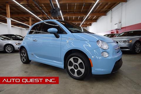 2015 FIAT 500e for sale in Seattle, WA
