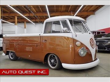1963 Volkswagen Vanagon for sale in Seattle, WA