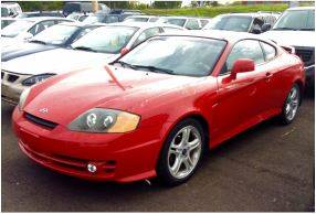 2003 Hyundai Tiburon for sale at SOLOMA AUTO SALES in Grand Island NE