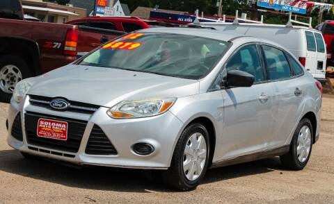 2012 Ford Focus for sale at SOLOMA AUTO SALES in Grand Island NE