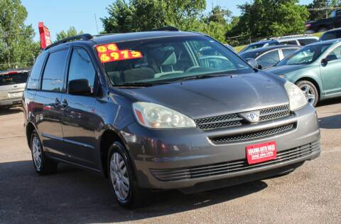 2004 Toyota Sienna for sale at SOLOMA AUTO SALES in Grand Island NE