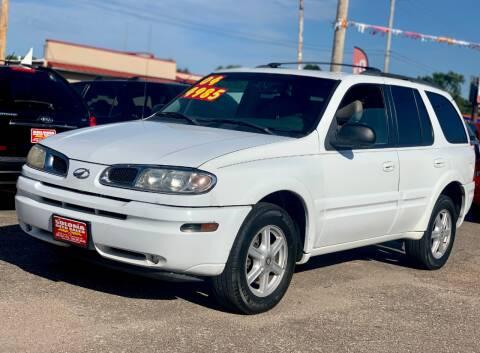 2003 Oldsmobile Bravada for sale at SOLOMA AUTO SALES in Grand Island NE