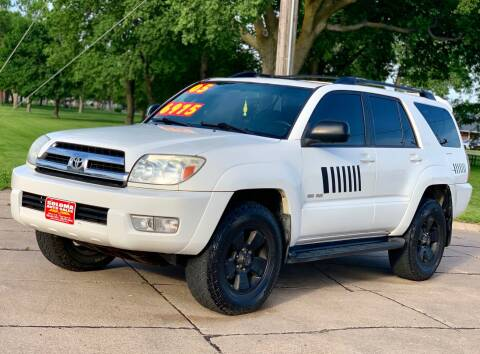 2005 Toyota 4Runner for sale at SOLOMA AUTO SALES in Grand Island NE