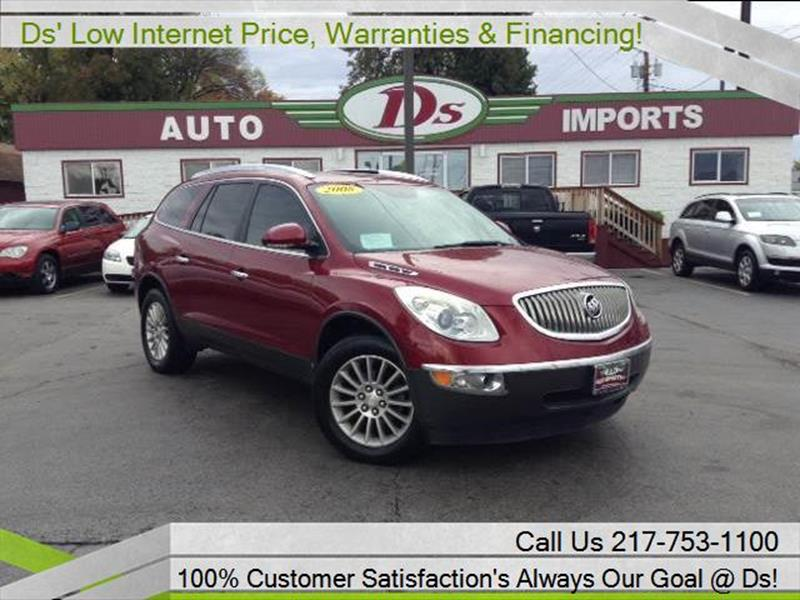 il at cxl enclave ds auto inventory details for imports springfield buick sale in