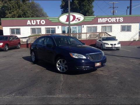 2012 Chrysler 200 for sale in Springfield, IL