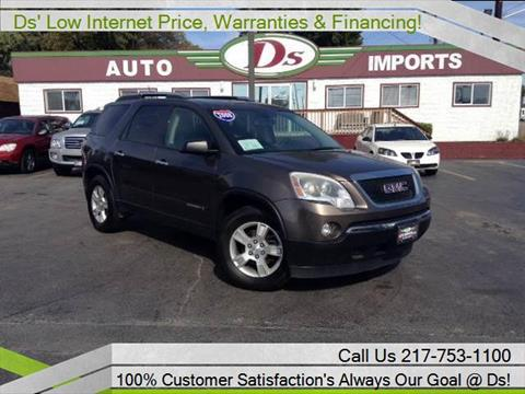 2008 GMC Acadia for sale in Springfield, IL
