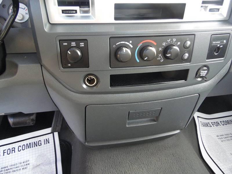 2007 Dodge Ram Pickup 1500 4x4 SLT 2dr Regular Cab LB - Paoli IN