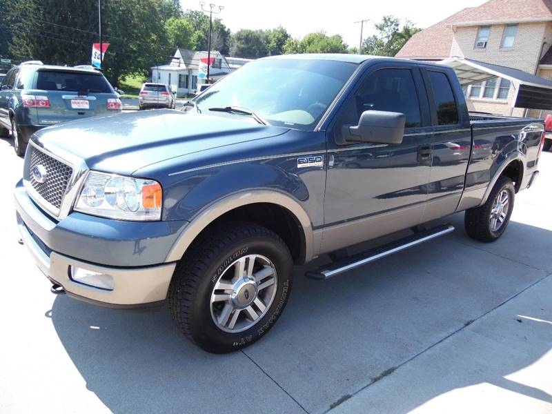 2005 Ford F-150 4dr SuperCab Lariat 4WD Styleside 5.5 ft. SB - Paoli IN