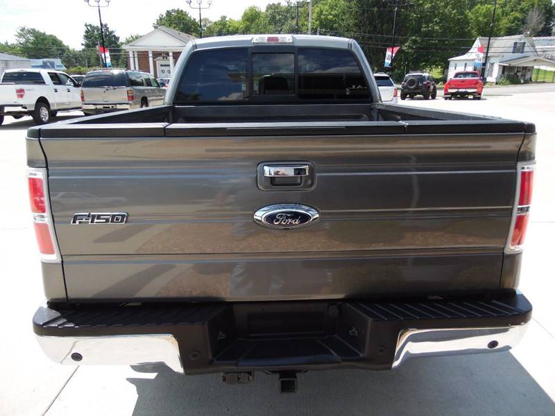 2012 Ford F-150 4x4 Lariat 4dr SuperCab Styleside 6.5 ft. SB - Paoli IN