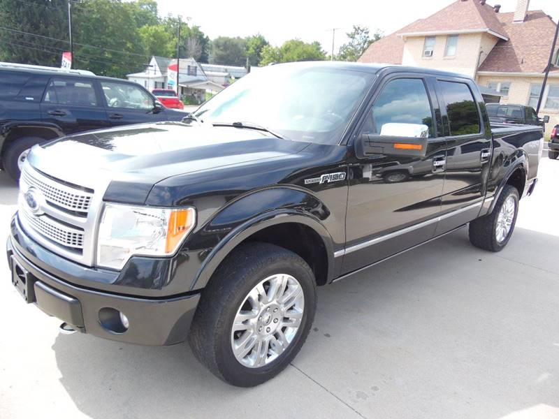 2012 Ford F-150 4x4 Platinum 4dr SuperCrew Styleside 5.5 ft. SB - Paoli IN