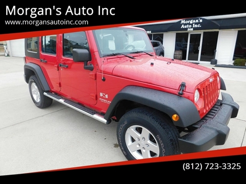 2008 Jeep Wrangler Unlimited for sale in Paoli, IN