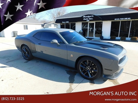 2019 Dodge Challenger for sale at Morgan's Auto Inc in Paoli IN