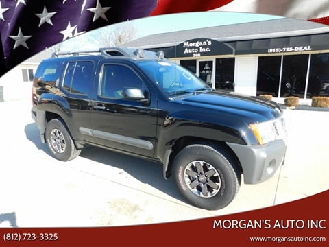 2015 Nissan Xterra for sale at Morgan's Auto Inc in Paoli IN