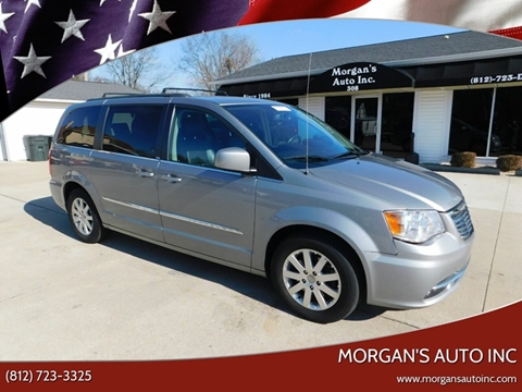 2014 Chrysler Town and Country for sale at Morgan's Auto Inc in Paoli IN