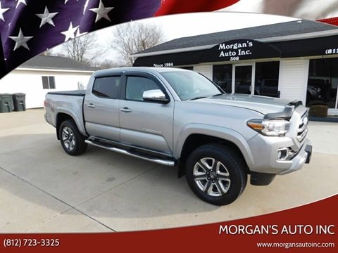 2018 Toyota Tacoma for sale at Morgan's Auto Inc in Paoli IN