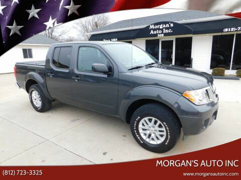 2015 Nissan Frontier for sale at Morgan's Auto Inc in Paoli IN