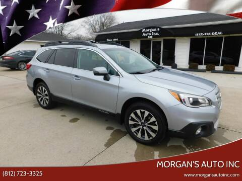 2015 Subaru Outback 2.5i Limited for sale at Morgan's Auto Inc in Paoli IN