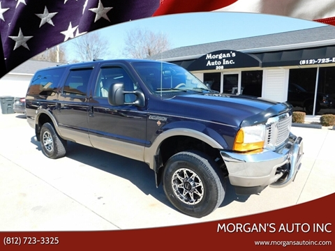 2000 Ford Excursion Limited for sale at Morgan's Auto Inc in Paoli IN