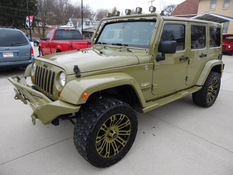 2013 Jeep Wrangler Unlimited for sale in Paoli, IN