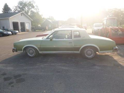 1979 Pontiac Grand Prix for sale at JIM WOESTE AUTO SALES & SVC in Long Prairie MN