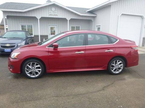 2013 Nissan Sentra for sale at JIM WOESTE AUTO SALES & SVC in Long Prairie MN