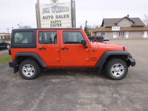 2015 Jeep Wrangler Unlimited for sale in Long Prairie, MN
